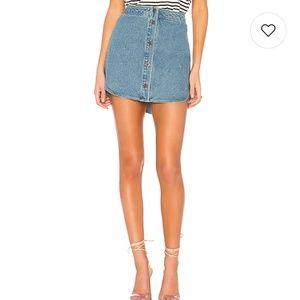 New BB Dakota Macyn Denim Skirt 8